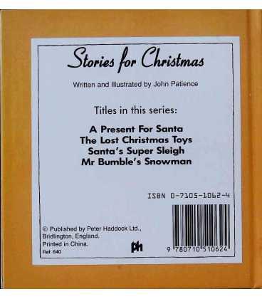 Santa's Super Sleigh Back Cover