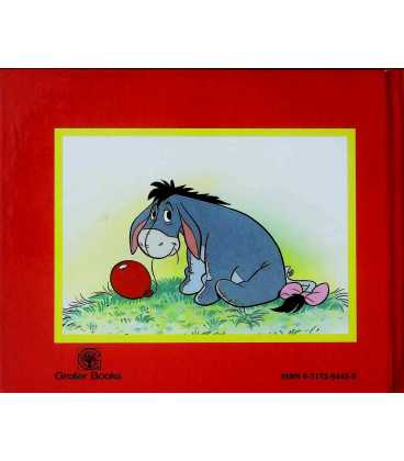 Eeyore And The Balloon Tree (Disney's Pooh and Friends) Back Cover