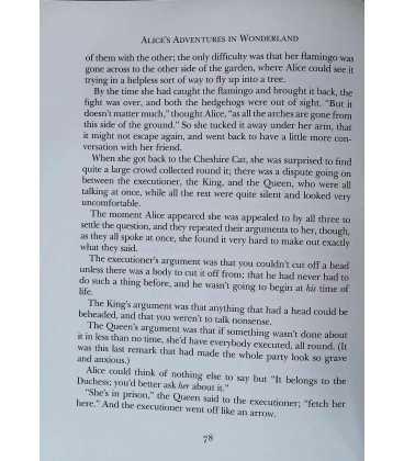 Alice's Adventures in Wonderland Inside Page 1