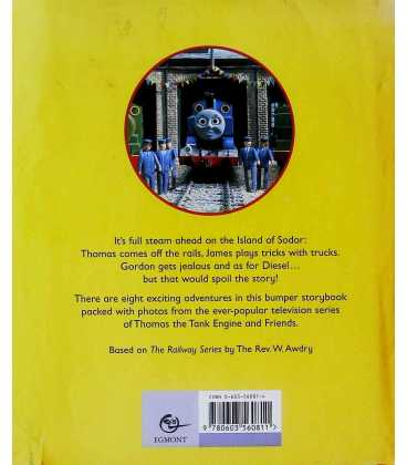 The Adventures of Thomas Back Cover