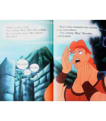 Disney's Hercules and the Minotaur's Maze Inside Page 1