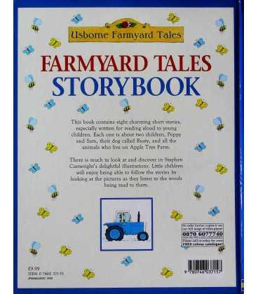 Farmyard Tales Storybook Back Cover