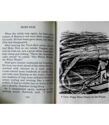 Moby Dick (Great Illustrated Classics) Inside Page 1