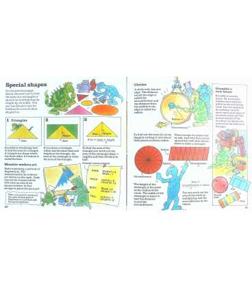 Weighing & Measuring (Usborne First Maths) Inside Page 1