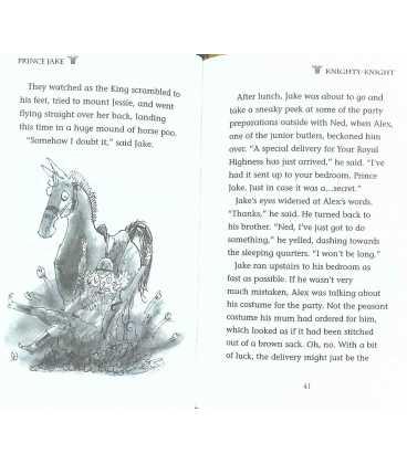 Knighty-Knight (Prince Jake) Inside Page 1