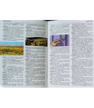 Children's Pocket Dictionary Inside Page 2