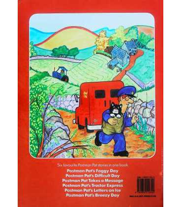 My Postman Pat Storytime Book Back Cover