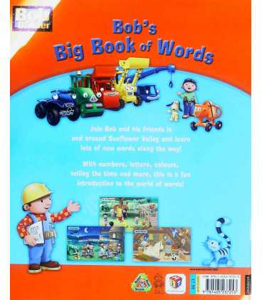 Bob's Big Book of Words Back Cover