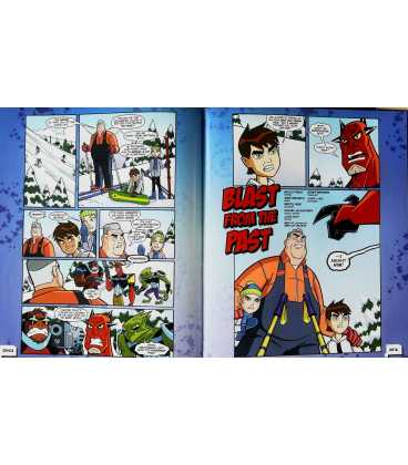 Ben 10 All Action Stories and Flicker Book Inside Page 1