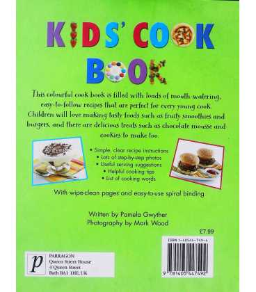 Kids' Cook Book Back Cover