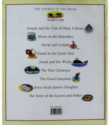The Bible Storybook Back Cover