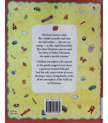 A Letter to Father Christmas Back Cover