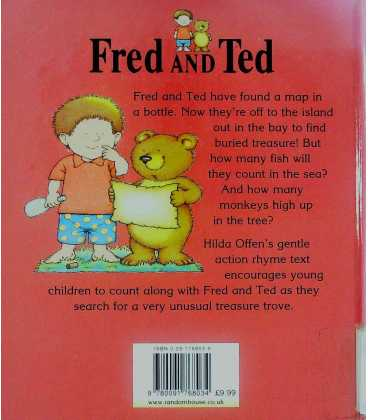 Fred and Ted's Treasure Hunt Back Cover