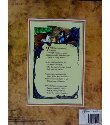 A Child's Garden of Verses Back Cover