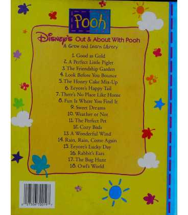 Parent's Guide (Disney's Out & About With Pooh) Back Cover