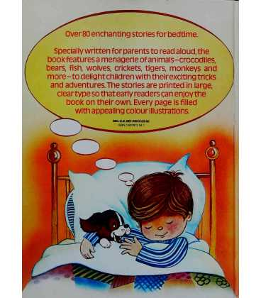 Favourite Bedtime Stories Back Cover