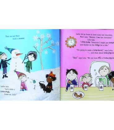 Snow Is My Favourite and My Best (Charlie & Lola) Inside Page 2