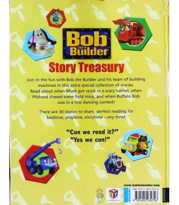 Bob the Builder Story Treasury Back Cover