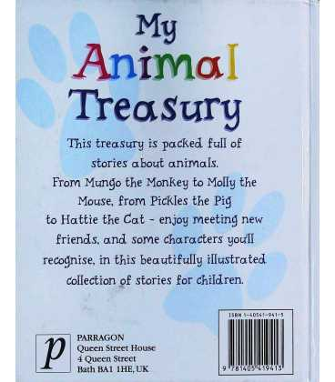 My Animal Treasury Back Cover