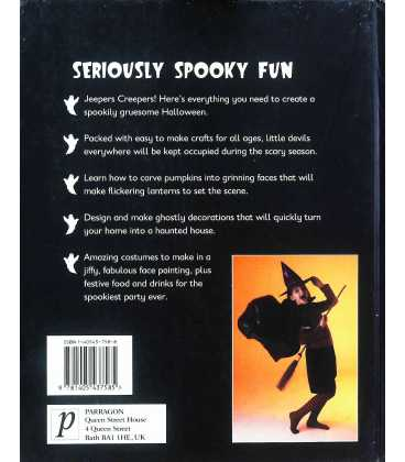 Seriously Spooky Fun Back Cover
