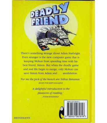 Deadly Friend Back Cover