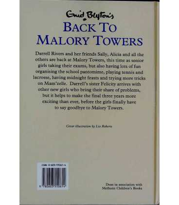Back To Malory Towers Again Back Cover