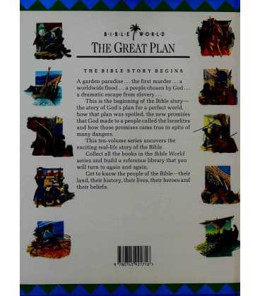 The Great Plan Back Cover