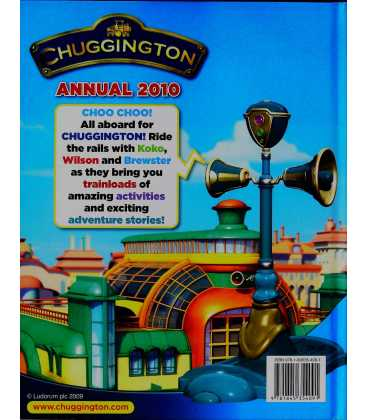 Chuggington Annual 2010 Back Cover
