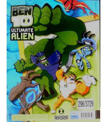 Ben 10 Ultimate Alien Annual 2012 Back Cover