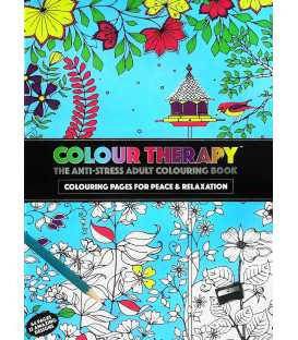 Adult Colour Therapy Anti-Stress Colouring Book