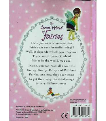The Secret World of Fairies Back Cover
