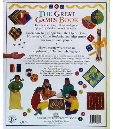 The Great Games Book Back Cover