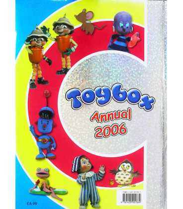 Toybox Compilation Annual 2006 Back Cover