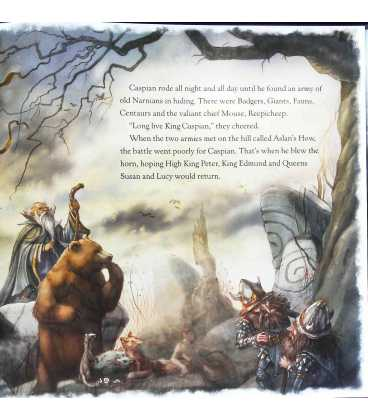The Return to Narnia: The Rescue of Prince Caspian Inside Page 1