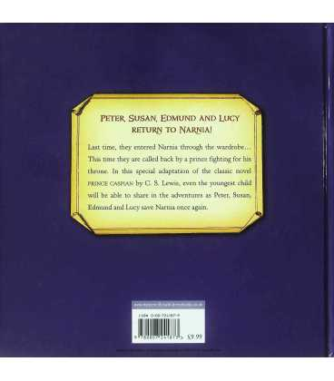 The Return to Narnia: The Rescue of Prince Caspian Back Cover
