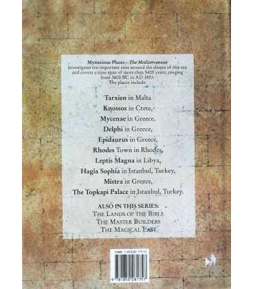 The Mediterranean Back Cover