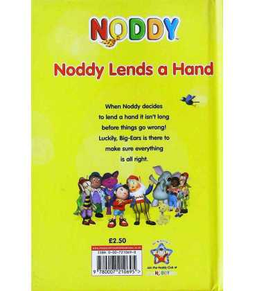 Noddy Lends a Hand Back Cover