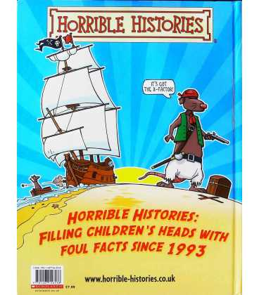 Horrible Histories Annual 2016 Back Cover