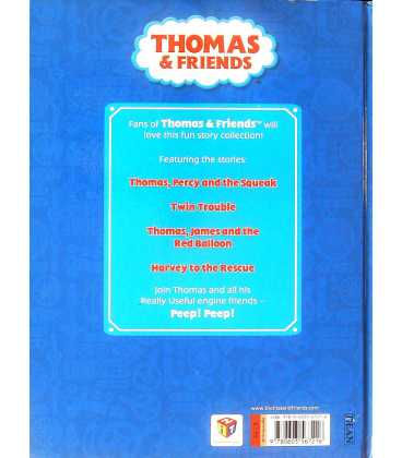 Thomas and Friends Favourite Stories Back Cover
