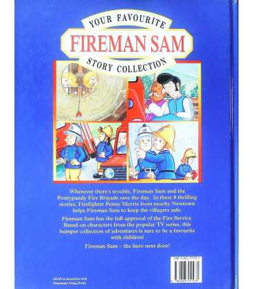 Your Favourite Fireman Sam Story Collection Back Cover