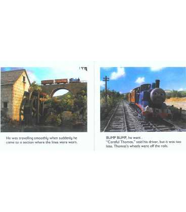 Thomas, Bertie and the Bumpy Line Inside Page 1
