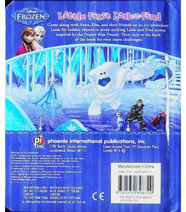 Frozen Back Cover