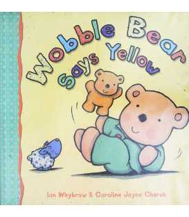 Wobble Bear Says Yellow