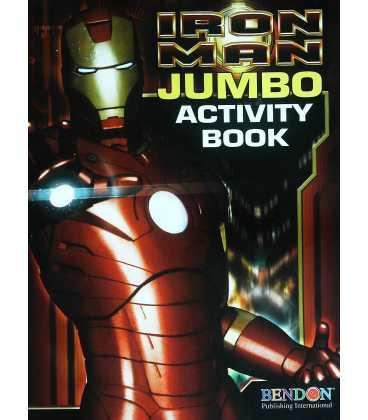 Iron Man Jumbo Activity Book
