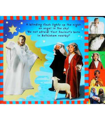 Christmas Story: A Sparkling Nativity Play Inside Page 1