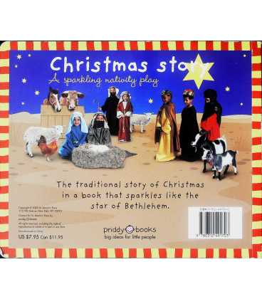 Christmas Story: A Sparkling Nativity Play Back Cover
