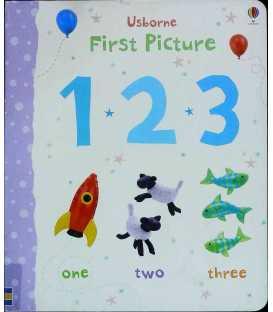 123 (Usborne First Picture Books)