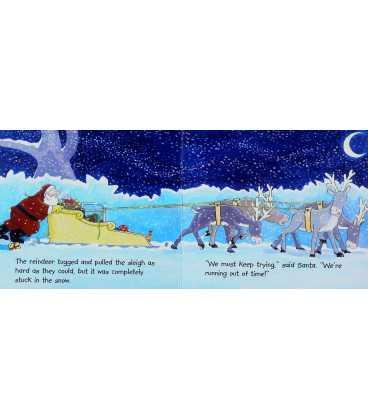 Hurry Santa Inside Page 1