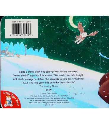 Hurry Santa Back Cover