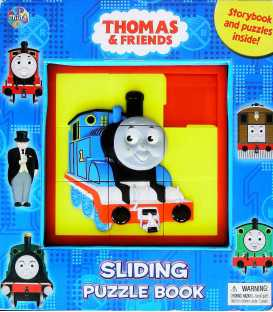 Thomas Sliding Puzzle Book